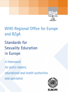 Standards for sexuality education in Europe