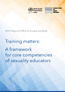 Training matters: A framework of core competencies of sexuality educators