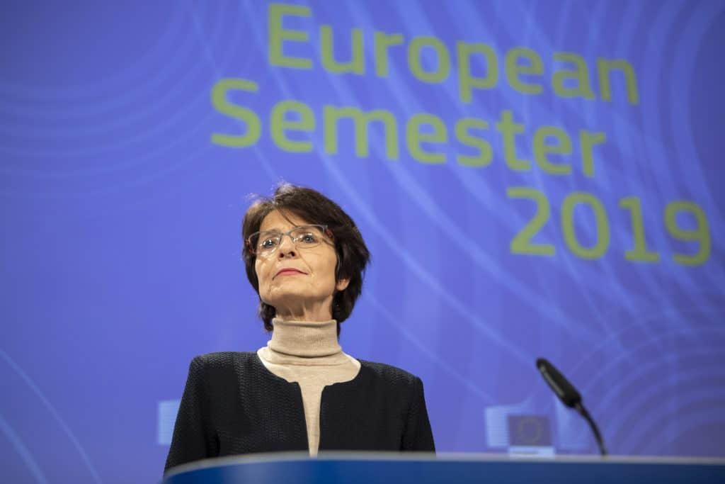 Marianne Thyssen, European Commissioner for Employment, Social Affairs, Skills and Labour Mobility,