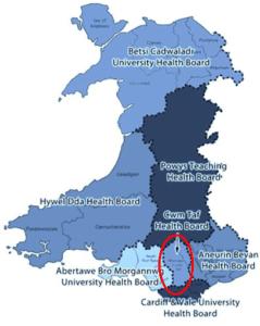 Map Cwm Taf