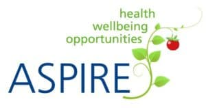 Logo of the ASPIRE project. Addressing obesity, employment, and discrimination in the workplace