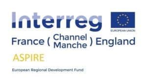 Logo of Interreg France Channel/Manche England