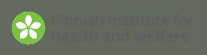 Logo fińskiego instytutu zdrowia i opieki społecznej